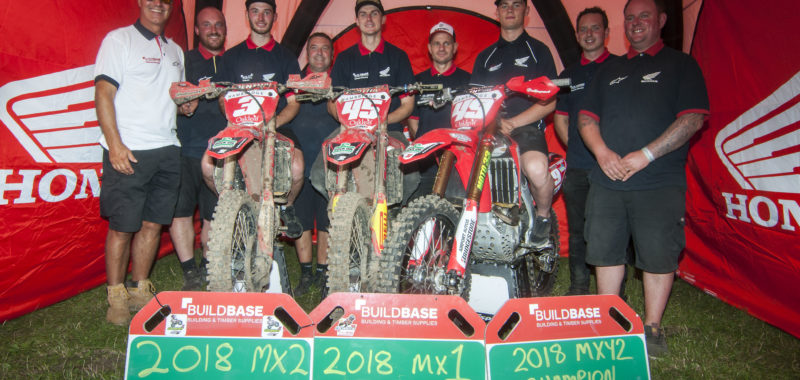 Buildbase Honda cleans up at MX Nationals Finale