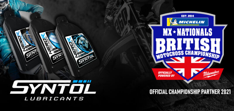 Syntol Lubricants partners with the Michelin MX Nationals British Championship powered by Milwaukee