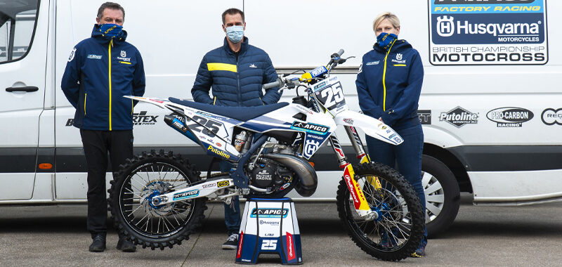 Apico Partners with the Michelin MX Nationals British Championship powered by Milwaukee